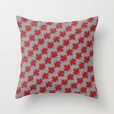 Canadian Pattern Throw Pillow