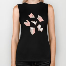 Books: Through the rabbit hole_Pink Cake Biker Tank