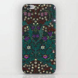 Blackthorn - William Morris iPhone Skin