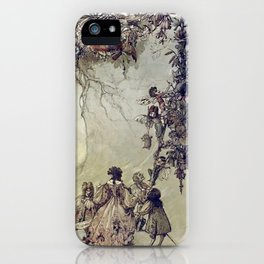 """""""The Fairies Ascent"""" by A. Duncan Carse iPhone Case"""