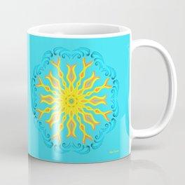 Corazón entre mar y río, desde el mar Coffee Mug