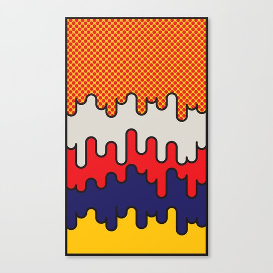 Lichtenstein Canvas Print