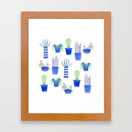 Succulents Framed Art Print