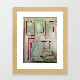 Sisters Nude Framed Art Print