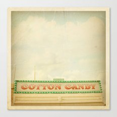 Cotton Candy Stand Canvas Print
