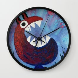 Scream #Funny creature Series Wall Clock