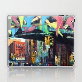 East Broadway Under the Manhattan Bridge Laptop & iPad Skin