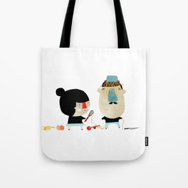 So... you wanted meat? Tote Bag