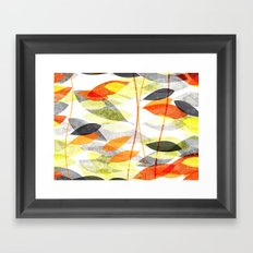 Foglie 10100401 Framed Art Print