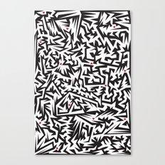 Love labyrinth Canvas Print