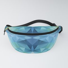 Abstract polygon pattern Fanny Pack