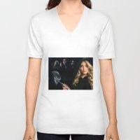 pretty little liars V-neck T-shirts featuring Pretty Little Liars  by Erwan Khatib