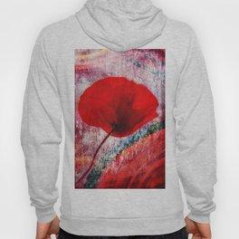 Red Poppy 157 Hoody