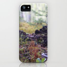 The Forest Floor iPhone Case