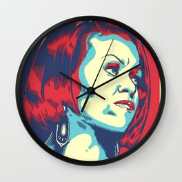 michele obama Wall Clock