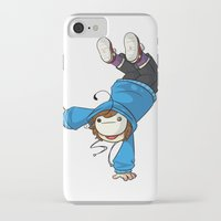 cryaotic iPhone & iPod Cases featuring Cryaotic 'BALANCE!' by Crazy Corners
