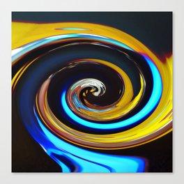 Swirling colors 03 (Swirl) Canvas Print