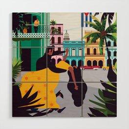 Havana ft. Salsa Dancers Wood Wall Art