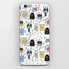 Little Monsters iPhone Skin