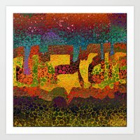1732 Abstract Thought Art Print