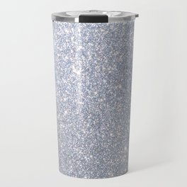 Silver Metallic Sparkly Glitter Travel Mug