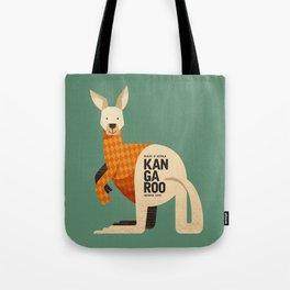Hello Kangaroo Tote Bag