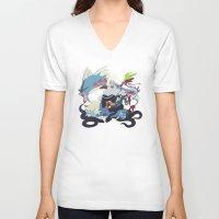 ursula V-neck T-shirts featuring Team Ursula by Citron Vert