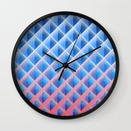 Deep Magic Grid 03 Wall Clock