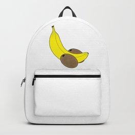 Banana And Kiwis Backpack