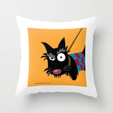 Scottish Terrier Throw Pillow