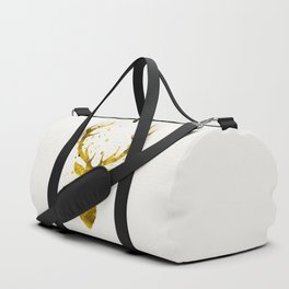 Gold Deer Duffle Bag