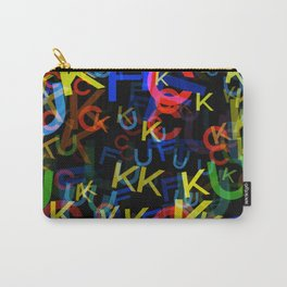 The Most Colorful Carry-All Pouch