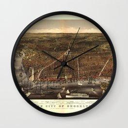 Brooklyn 1879 Wall Clock