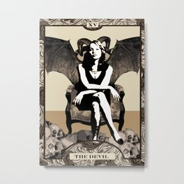 The Devil Metal Print