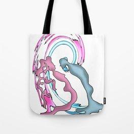 scorpio and pisces Tote Bag