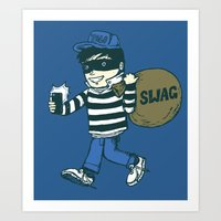 swag Art Prints featuring Swag by Thomas Orrow