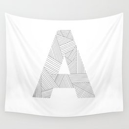 A strings Wall Tapestry
