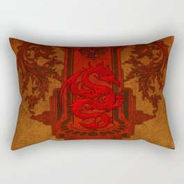 Chinese dragon Rectangular Pillow