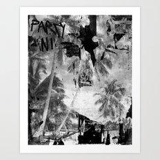 Broken Paradise Art Print