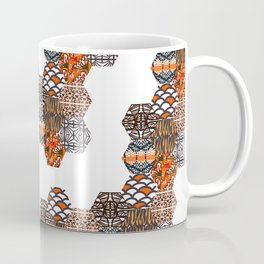 Tribal Collage Coffee Mug