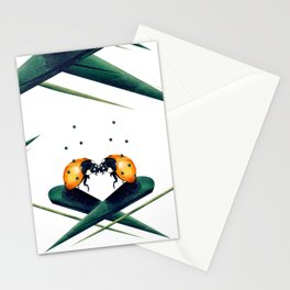 Bugs in Love (Pattern) Stationery Cards