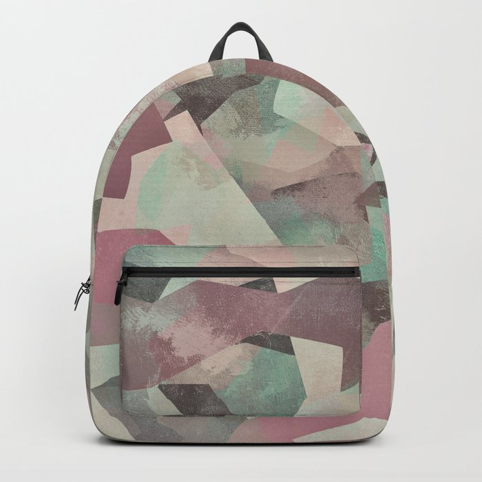 Camouflage LV Backpack