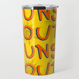 Guns Out Travel Mug