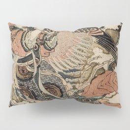 Hokusai, Aspara and the flute – musician manga, japan,hokusai,japanese,北斎,ミュージシャン Pillow Sham
