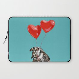 Owl with Love Laptop Sleeve