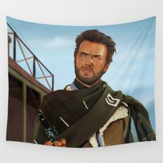 For a fistful of dollars Wall Tapestry