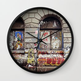 on the Bowery... Wall Clock