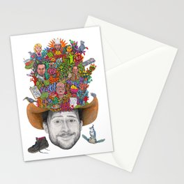 THE KING OF THE RATS Stationery Cards