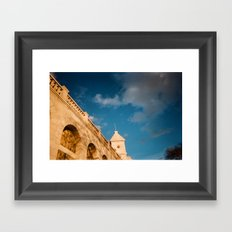 Paris Moon Framed Art Print