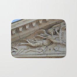 Sensual angel of Val de Grace Church in Paris Bath Mat